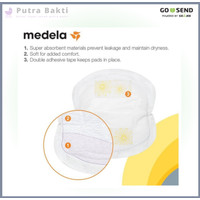 (1pcs) Medela Disposable Nursing Pads - Breast Pad - Breastpad