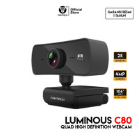 Fantech Webcam 2K 4MP Luminous C30 QHD 1440P