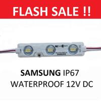 Lampu LED Samsung 12 Mata Module Putih SMD 12 V 12 Volt 3 Mata Lampu H