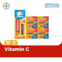 Redoxon Vitamin C, D + Zinc Rasa Jeruk 10 Tablet & Redoxon 4 Sachet