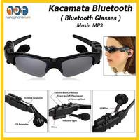 MP3 Sunglasses With Bluetooth / Kacamata Glasses Headset MP3 Wireless