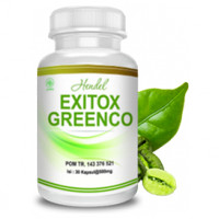 Obat Pelangsing Alami/[ HENDEL EXITOX ]Green Coffee Bean Extract 500mg