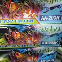 filterbox aquarium set celup ikan hias top filter box atas set komplit
