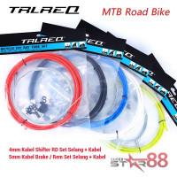 Kabel Rem Brake Set Sepeda Lipat MTB Road Bike Dahon Fnhon TRLREQ set - Hitam