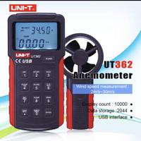 UNI-T UT362 Kecepatan Angin Anemometer Wind Speed Meter Tachometer