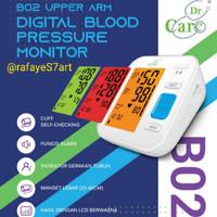 Tensimeter Digital Dr Care B02   Tensi Lengan Digital