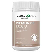 Healthy Care Vitamin D3 1000IU 250