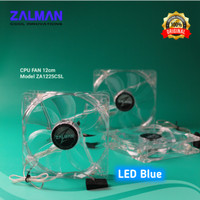 LED Fan Casing CPU ZALMAN ZA1225CSL 12cm-Kipas Pendingin CPU ORIGINAL
