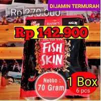 1 BOX RAFINS FISH SKIN SALTED EGG || rafin's irvins kulit ikan keripik