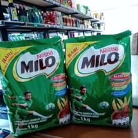 MILO Actigen Active GO 1KG (Gula Lebih Rendah) / Susu Bubuk Coklat Mal