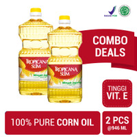 Twin Pack: Tropicana Slim Minyak Jagung 946ml (Botol)