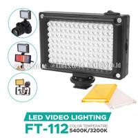 Lighting LED COSTA 112 Lampu Studio Foto,Vide,DSLR Smartphone Bi-Color