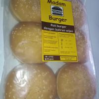 Roti Burger premium Wijen Tebal