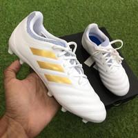 OBRAL Sepatu Bola Anak Original Adidas Copa 19.3 FG Jr White Murah