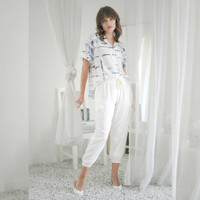 Nema Pants Beatrice Clothing - Celana Bahan Wanita
