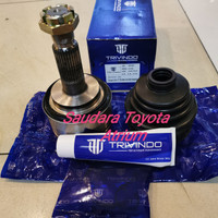 Cv joint as roda luar drive shaft luar hilux vigo merk trivindo