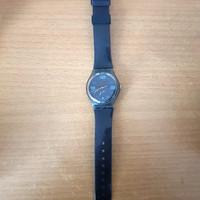 Jam Tangan Swatch Original warna Navy preloved