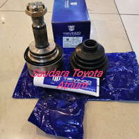 Cv joint as roda luar drive shaft luar hilux revo merk trivindo