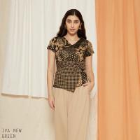 Iva New Top Jumbo - Atasan Batik Wanita Blouse Wanita