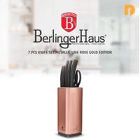 Berlinger Haus 7 pcs Knife Set Metallic Line Rose Gold Edition