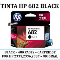 Tinta HP Original 682 Black Original Ink Cartridge