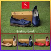 Sepatu Wanita Leeshoes Original - Official Store Kode IMG Warna Navy