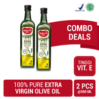 Twin Pack: Tropicana Slim Extra Virgin Olive Oil 500ml