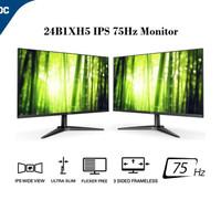 Monitor LED AOC 24B1XH5 24B1 24 FHD IPS Frameless 24B1XHS 75Hz