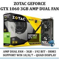 ZOTAC GeForce GTX 1060 3GB DDR5 AMP Dual Fan