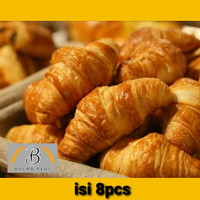 Butter Croissant original M / Dus tebal 8pcs