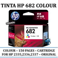 Tinta HP Original 682 Colour Original Ink Cartridge