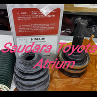 As roda luar drive shaft luar toyota starlet kapsul 1.3 NKN Japan
