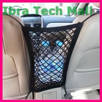 SEAMETAL Jaring Mesh Penyimpanan Barang Mobil Car Net Organizer C384
