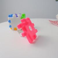 RAUTAN KOTAK LEGO KUBUS SERUTAN BENTUK LUCU IMUT ALAT TULIS KANTOR COD