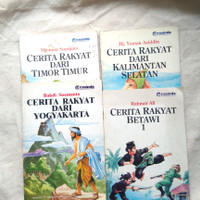 Buku Carita Anak Lawas Seri Cerita Rakyat Dari Penerbit Grasindo