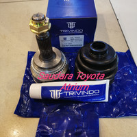 Cv joint as roda drive shaft luar harrier vellfire new alphard 2400cc