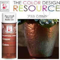 Design Master Copper 733 - Pilox Bunga - Barang Florist - Pewarna