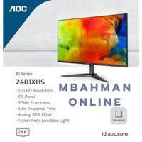 ( PROMO ) Monitor Gaming 75hz IPS 24 inch AOC 24B1XH5 LED FHD Resmi