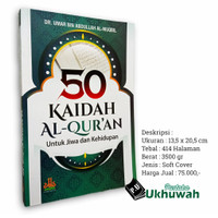 Buku 50 Kaidah Al Quran Dalam Jiwa Dan Kehidupan