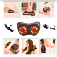 Bantal Pijat 8 Bola Massage Pillow Mobil & Rumah Car Home Pijat Leher