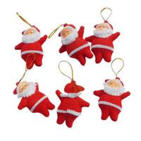 XSCR santa claus dekorasi ornamen pohon natal aksesoris gantungan