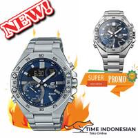 Jam Tangan Pria Merk Edifice Original BM Type ECB-10D-2A FullSet