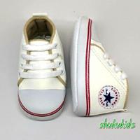 Prewalker Sepatu Bayi unisex perempuan dan laki usia 2-15 bulan cream - 2-6 bulan