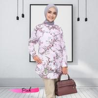 Tunik Baju Kemeja Atasan Wanita Lengan Panjang Muslimah