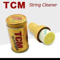 Pembersih dan pelumas senar gitar biola string cleeaner TCM T-001