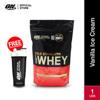 Optimum Nutrition 100% Gold Standard Whey 1Lbs Vanilla Ice Cream