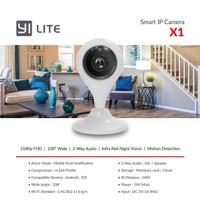 Xiaomi Xiaoyi Yi Lite X1 Full HD1080P Smart IP Camera Kamera CCTV