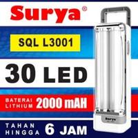 lampu emrgency LED surya SQL L3001 lampu emergency LED SQL L3001