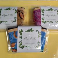 GROSIR Souvenir Pernikahan Dompet Batik Kotak|Dompet Koin murah