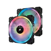 Corsair LL140 RGB (Twin Pack) - With Lighting Node PRO - 14CM Fan